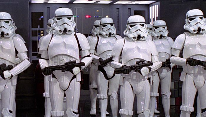Star Wars VII will feature 'hundreds' of Stromtroopers.