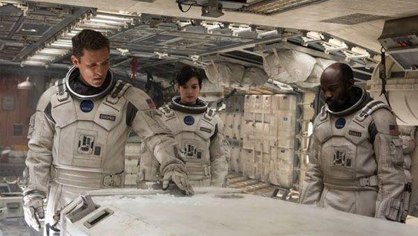 Christopher Nolan's Interstellar.