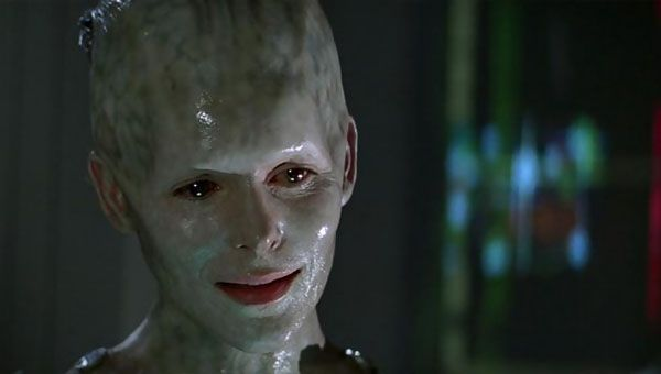 Alice Krige as Star Trek: First Contact's Borg Queen.