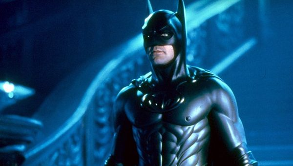 George Clooney hams it up as Batman