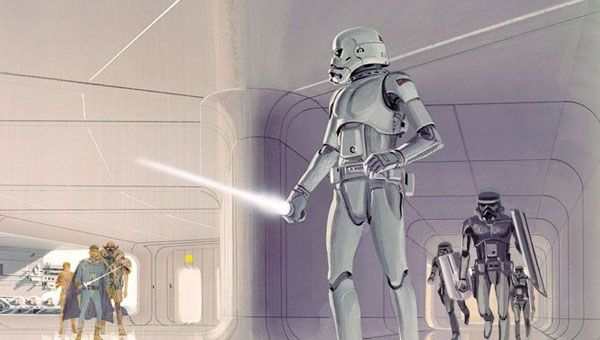 Star Wars 7 will reportedly feature chrome troopers.