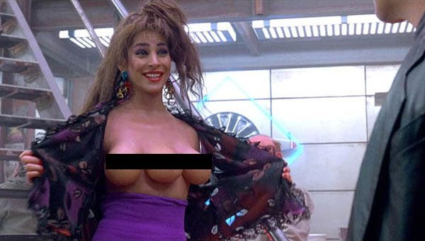 Total Recall may have inspired this American woman to get a third breast...