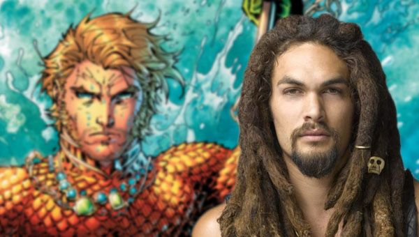 Jason Momoa may suuit up as Aquaman.