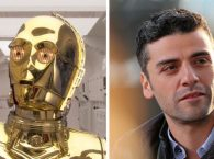 Anthony Daniels And Oscaar Isaac Wrap On Star Wars VII