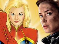 Emily Blunt wants to play Captain Marvel.