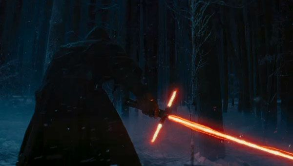 Star Wars: The Force Awakens ignites a cool first trailer.