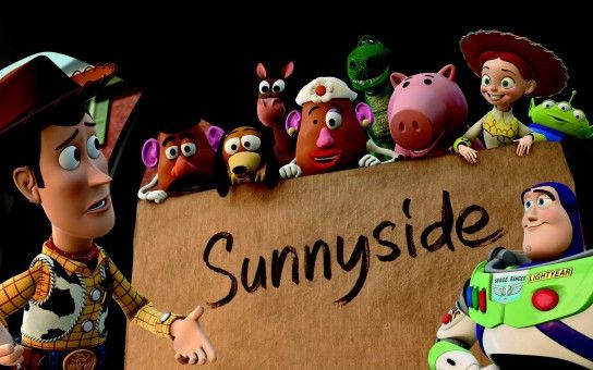 Welcome to Sunnyside in Toy Story 3