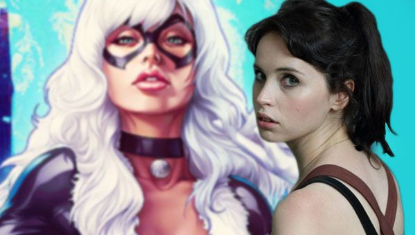 Felicity Jones wants to play Black Cat.