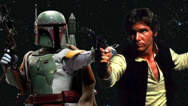 Star Wars Han Solo Boba Fett