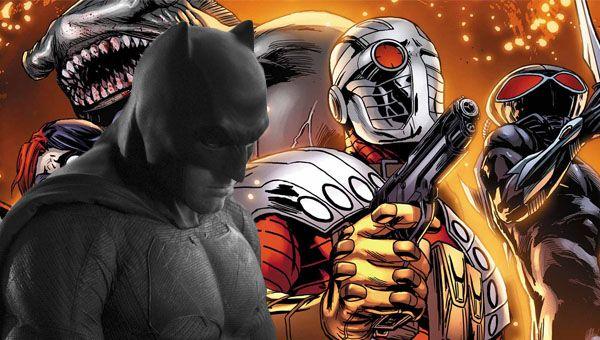 Batman in The Suicide Squad