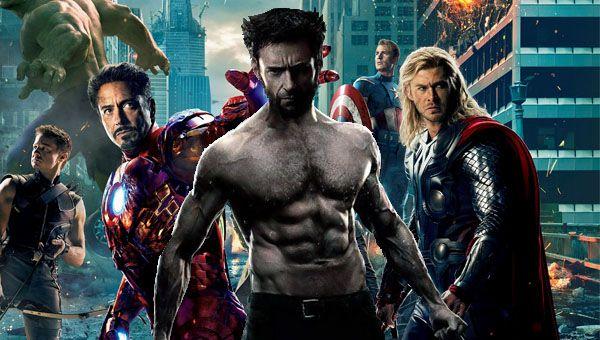 Wolverine X-Men Avengers