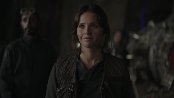 Star Wars: Rogue One Jyn Erso Felicity Jones