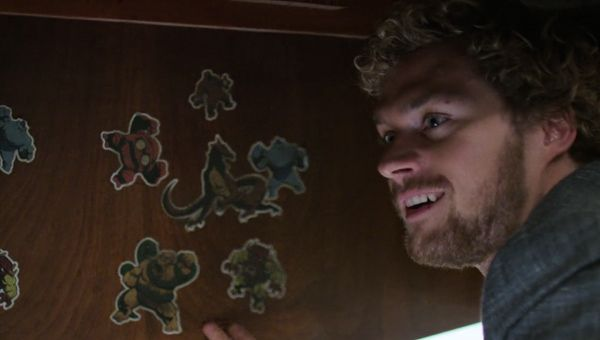 Danny's childhood stickers - Credit: Netflix
