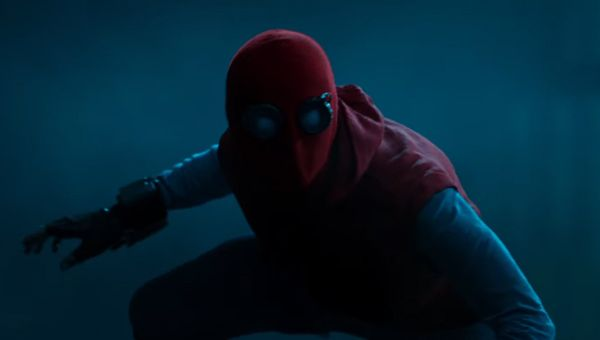 Spider-Man's homemade suit - Credit: Sony