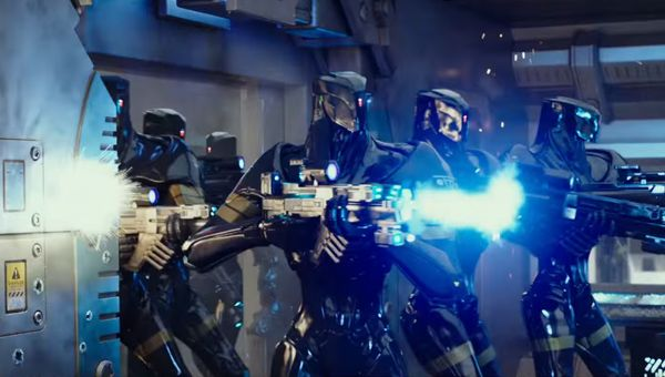 Robot attack! - Credit: Lionsgate