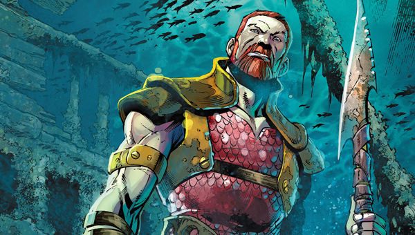 Aquaman's King Nereus - Credit: DC Entetainment