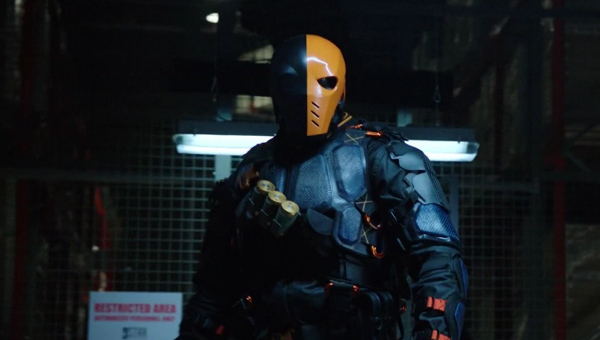 Deathstroke returns to Arrow - Credit: The CW
