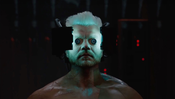 Batou gets some scary new eyes - Credit: Paramount Pictures