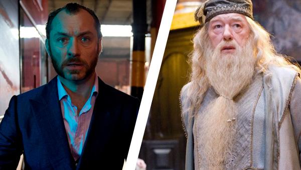 Fantastic Beasts 2 Jude Law Dumbledore
