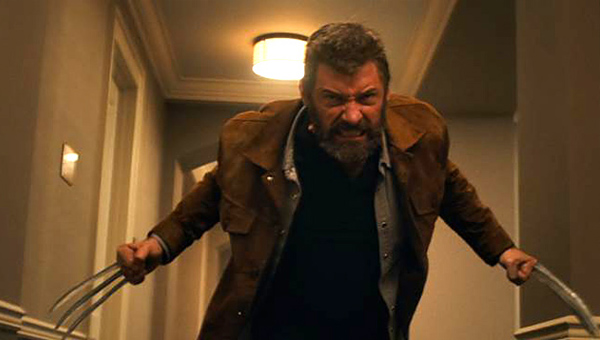 Wolverine gets his claws out in Logan - Credit: 20th Century Fox