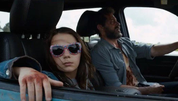 Wolverine and X-23 travelling together in Logan - Credit: 20th Century Fox
