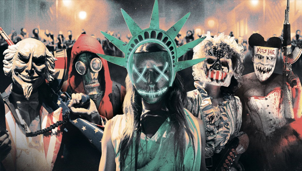 The Purge is coming to TV - Credit: Blumhouse