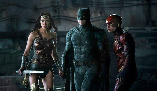 Batman, Wonder Woman and The Flash