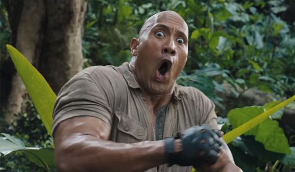 Dwayne Johnson in Jumanji: Welcome to the Jungle (Credit: Sony)