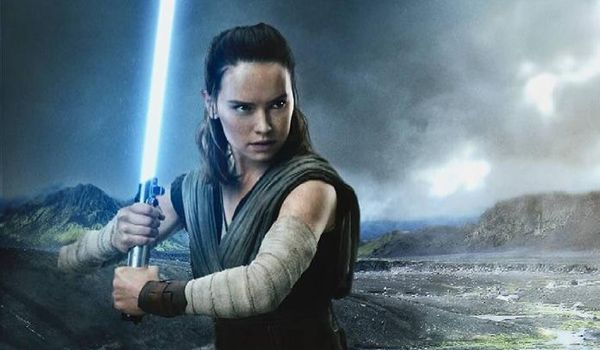 Star Wars The Lest Jedi Rey Daisy Ridley