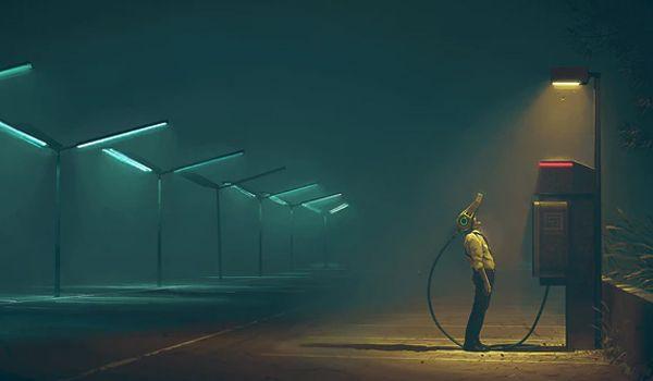 The Electric State (Credit: Simon Stålenhag)