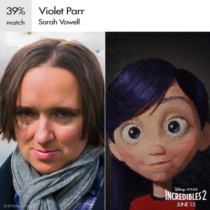 The Incredibles 2: Violet Parr (Credit: Disney)