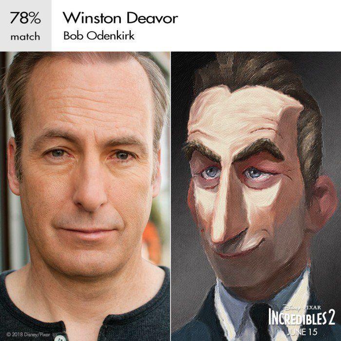 The Incredibles 2: Winston Deavor (Credit: Disney)