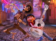 Miguel takes his musical skill to the spirit world in Coco (Credit: Disney)