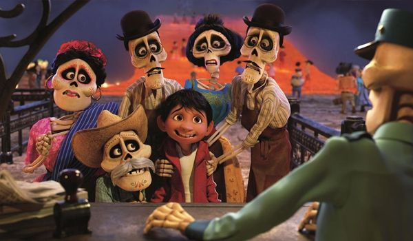 Miguel encounters his old family members in the afterlife (Credit: Disney)