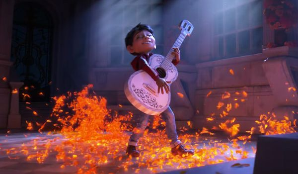 Miguel yearns to play music in Coco (Credit: Disney)