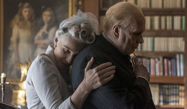 Gary Oldman and Kristin Scott Thomas star in Darkest Hour (Credit: Focus FIlms)