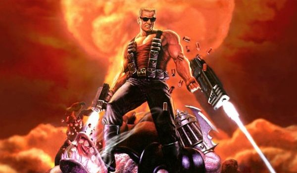 Duke Nukem brings the '90s video game star to the big screen (Credit: Gearbox)