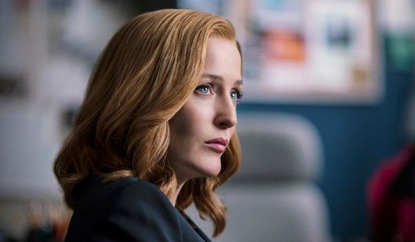 The X-Files: Gillian Anderson as the legendary Scully (Credit: FOX)