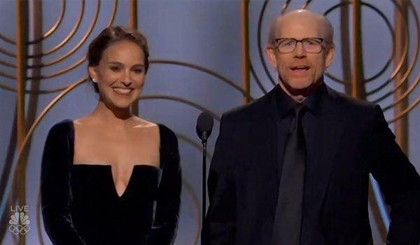 Natalie Portman slams the all-male Best Director category (Credit: NBC)