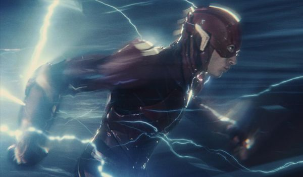 Ezra Miller stars as The Flash (Credit: Warner Bros.)