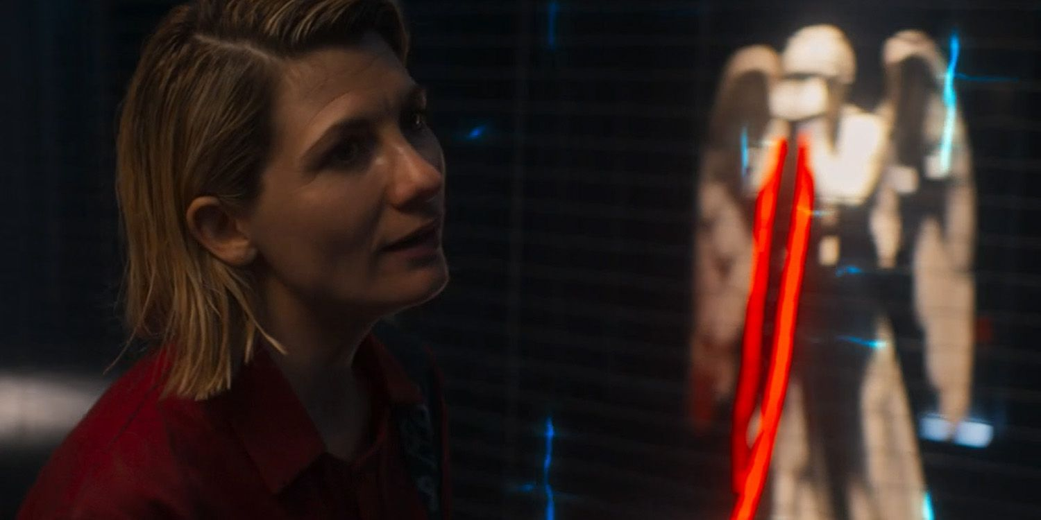 Doctor Who Jodie Whittaker Weeping Angels
